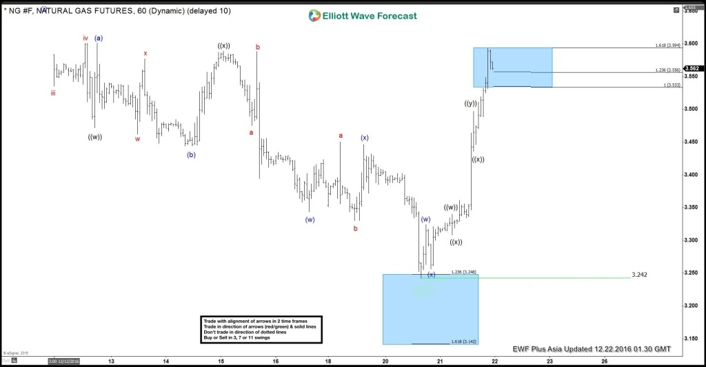 Natural Gas Elliott Wave Forecast