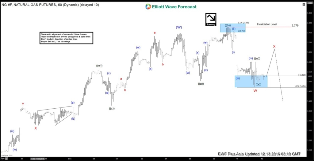 Natural Gas Elliott Wave Forecast 12.13.2016