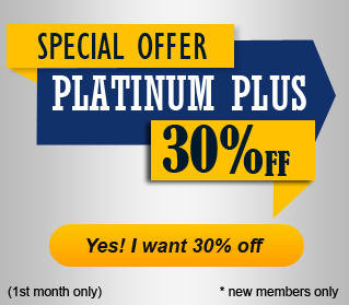 30% off on Platinum Plus Plan