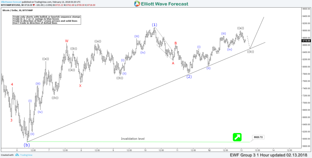 Elliott Wave Analysis: Calling the low in placed in Bitcoin