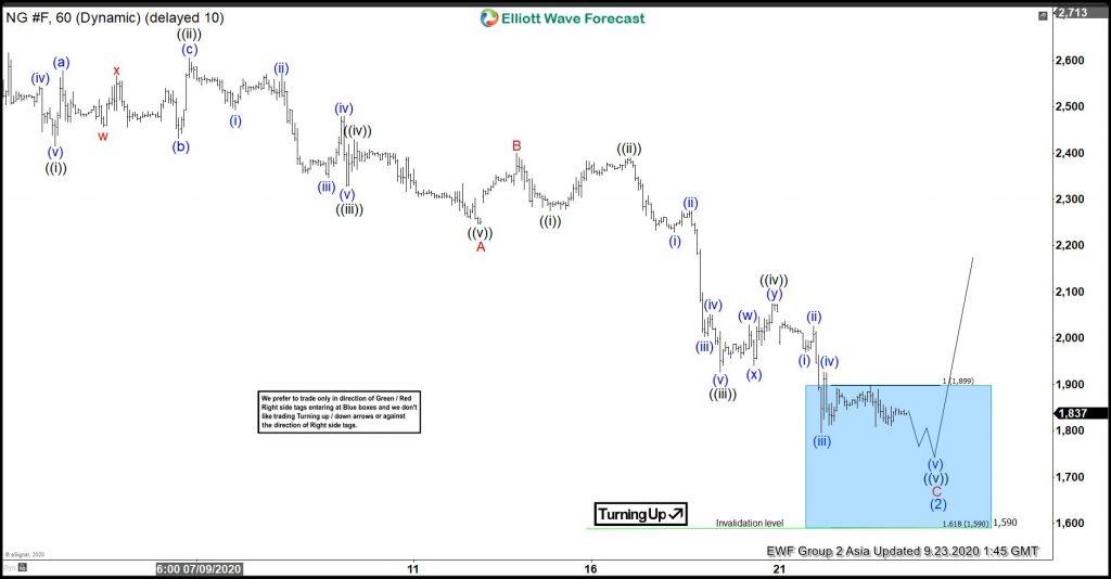 Elliott Wave Hedging Called For A Minimum 3 Waves Reaction At Minimum