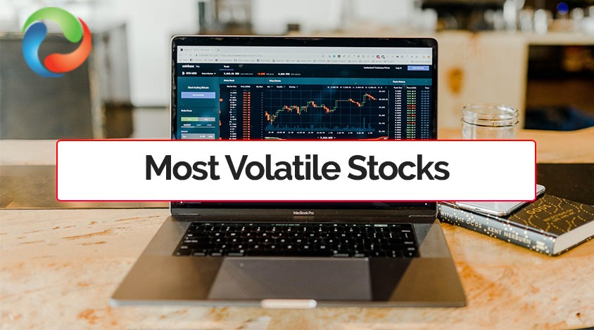 Top 10 Most Volatile Stocks for 2021